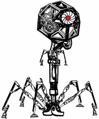 Steampunk Phage Original