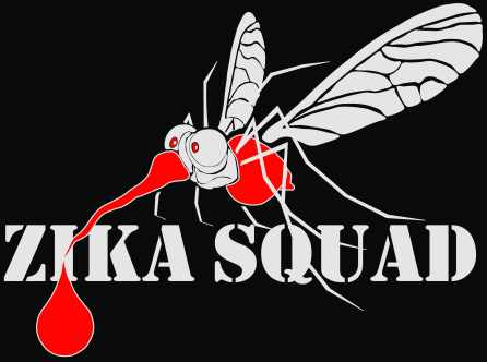 Zika Squad with background